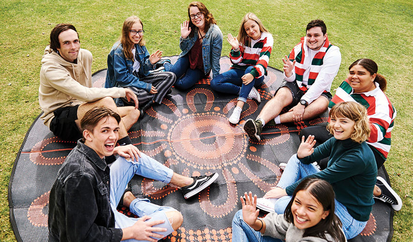 Indigenous students at Trinity College