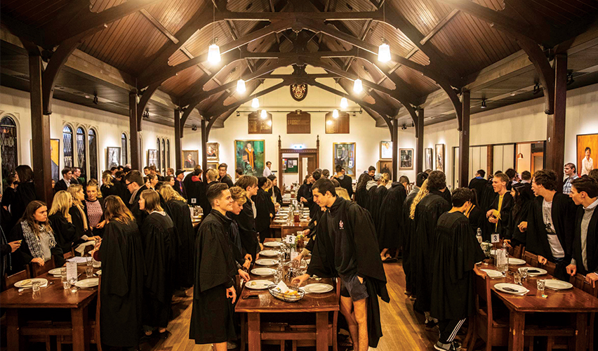 Trinity College Formal Hall_Dining Hall